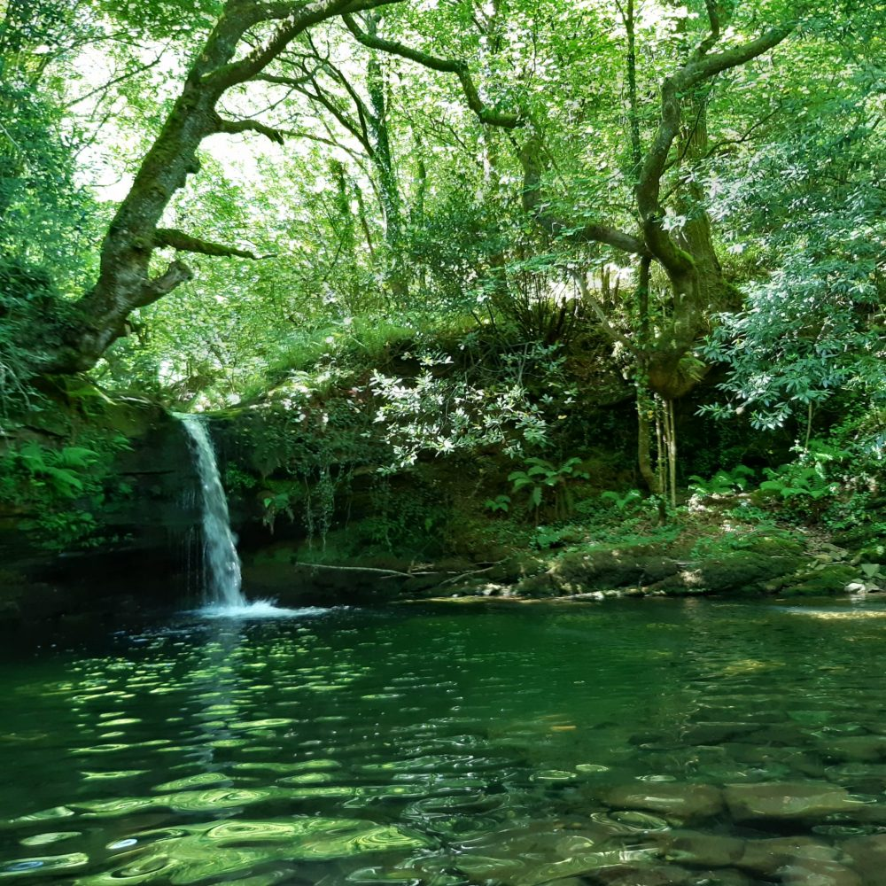 Pozas de Viaña para darse un baño en Cantabria