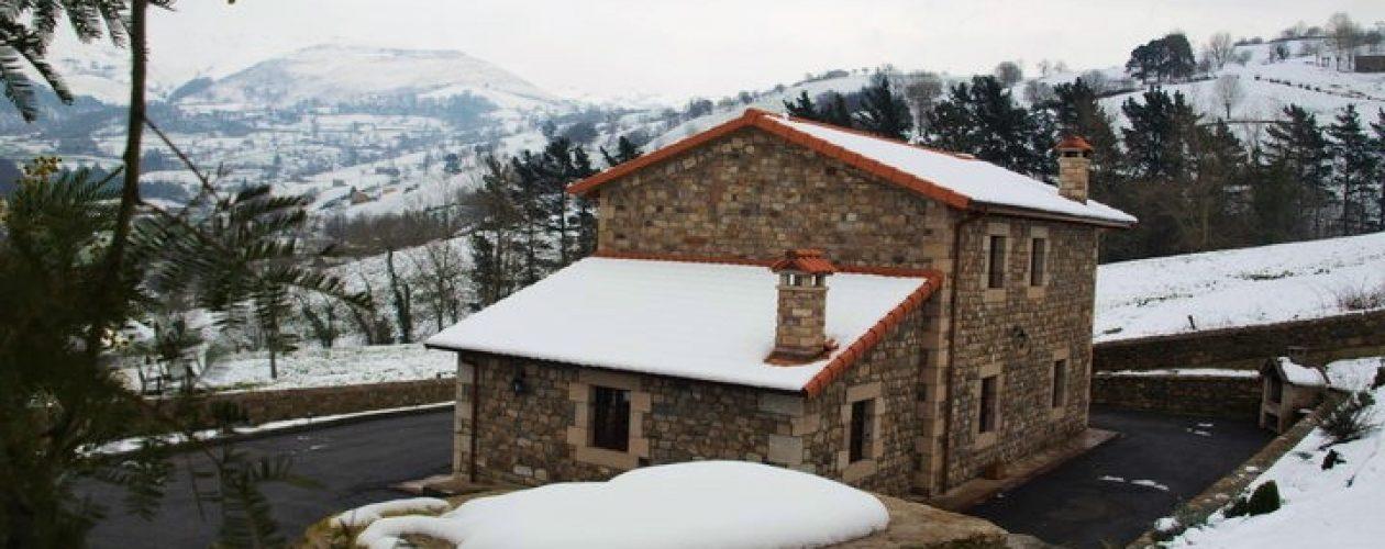 Invierno en la casa rural