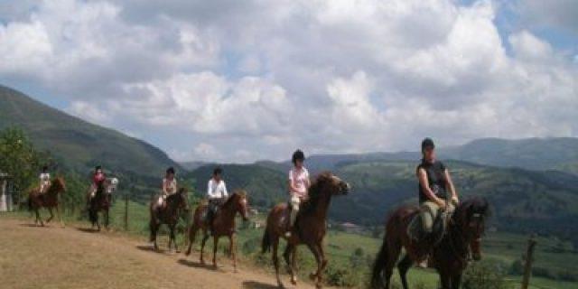 Ruta a Caballo en Villafufre